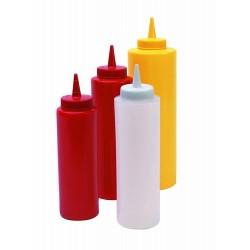 Flacon plastique jaune 625ml