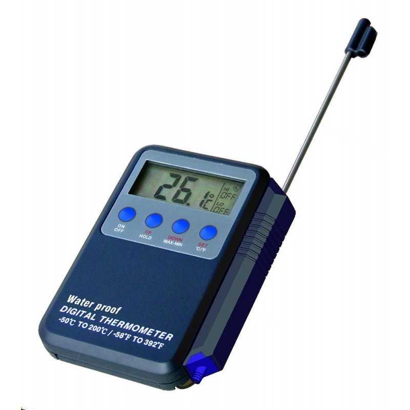 Thermomètre digital étanche