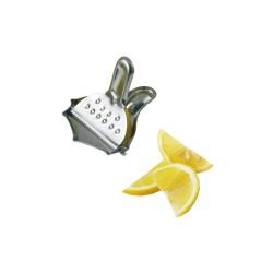 Presse 1/4 citron chrome