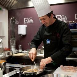 cours de cuisine avec un grand chef